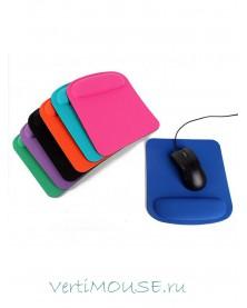 Эргономичный коврик для компьютерной мыши с подушкой для запястья